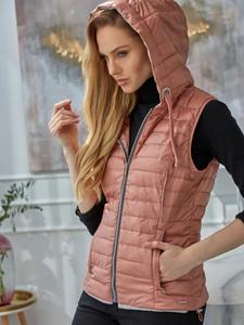Różowa kurtka Rino & Pelle z tkaniny