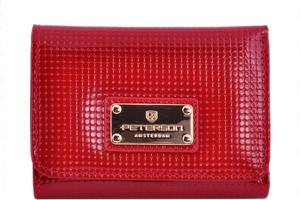 a71b58cdfbb6b portfele skórzane damskie peterson - stylowo i modnie z Allani