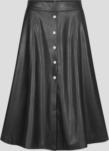 Czarna spódnica ORSAY midi z tkaniny