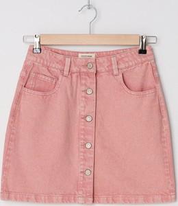 Różowa spódnica House w stylu casual mini