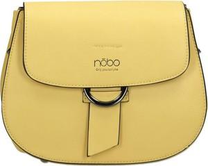 Żółta torebka NOBO na ramię w stylu casual