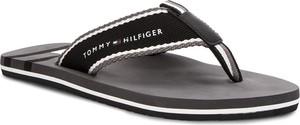 Brązowe buty letnie męskie Tommy Hilfiger