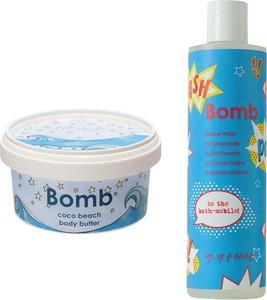 Bomb Cosmetics Zestaw dla Niej: żel pod prysznic 300ml + masło do ciała 210ml - Wysyłka w 24H!