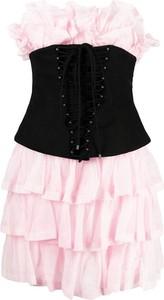 Różowa sukienka Philosophy di Lorenzo Serafini mini