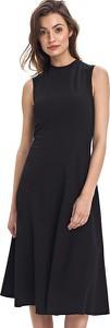 Czarna sukienka Colett bez rękawów midi