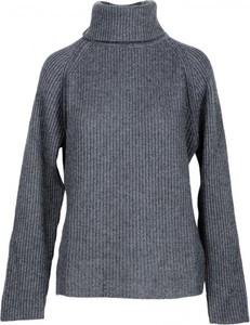 Sweter N.o.w. w stylu casual z kaszmiru