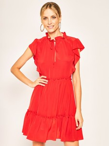 Sukienka Red Valentino rozkloszowana mini