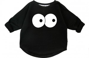 Czarna bluza dziecięca ilovemilk.pl