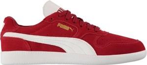 Bordowe buty sportowe Puma