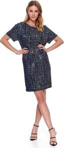 Sukienka Top Secret mini z okrągłym dekoltem koszulowa