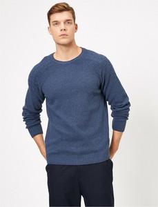Sweter Koton z okrągłym dekoltem w stylu casual