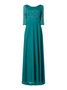 Zielona sukienka Vera Mont z długim rękawem