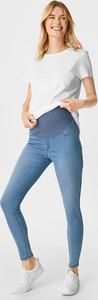 The Denim C&A Dżinsy ciążowe-jegging jeans-bawełna bio, Niebieski, Rozmiar: 34