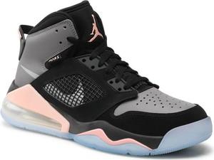 Czarne buty sportowe Nike w sportowym stylu air max 270