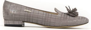 Baleriny Zapato z płaską podeszwą w stylu casual ze skóry