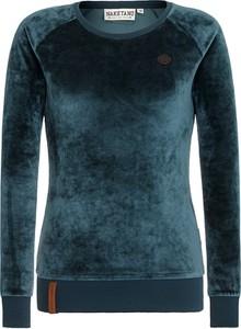 Granatowa bluza Naketano w sportowym stylu