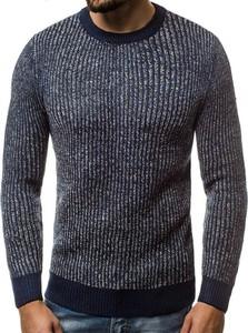 Czarny sweter Ozonee.pl z wełny