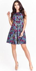 Granatowa sukienka Fokus mini