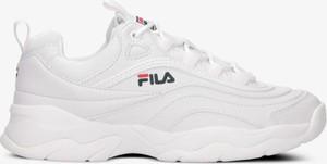 Sneakersy Fila w sportowym stylu na obcasie sznurowane