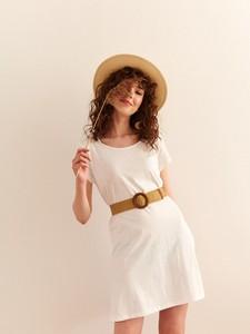 Sukienka Top Secret z krótkim rękawem z okrągłym dekoltem