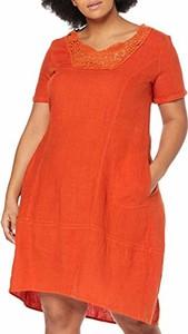 Sukienka amazon.de dla puszystych w stylu casual