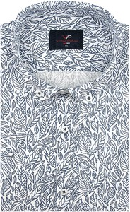 Koszula Viadi Polo z tkaniny z krótkim rękawem z klasycznym kołnierzykiem