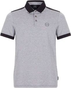 Koszulka polo Armani Exchange z krótkim rękawem w stylu casual