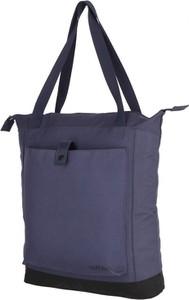 Niebieska torebka Outhorn w sportowym stylu na ramię duża