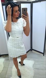 b5c7ba3cd9 Sukienka Tajus z okrągłym dekoltem