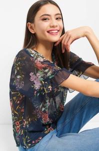 ec585d912f Bluzka ORSAY z tkaniny z krótkim rękawem