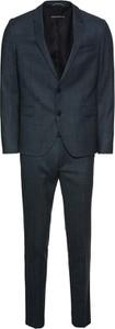 Niebieski garnitur Drykorn