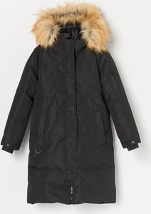Czarny płaszcz dziecięcy Reserved