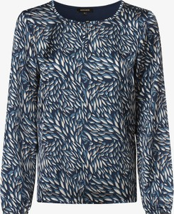 Bluzka More & More z długim rękawem w stylu casual