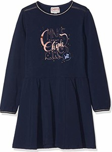 Niebieska sukienka dziewczęca amazon.de