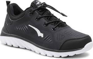 Czarne buty sportowe Bagheera sznurowane