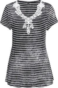 T-shirt bonprix bpc selection z krótkim rękawem w stylu casual