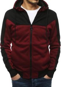 Czerwona bluza Dstreet z bawełny