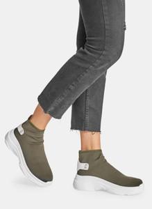 Zielone buty sportowe DeeZee w sportowym stylu