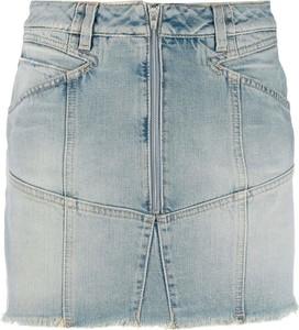 Niebieska spódnica Givenchy