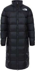 Czarna kurtka The North Face w stylu casual długa