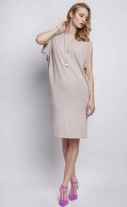 Sukienka Lanti midi w stylu casual