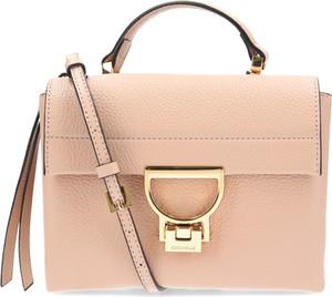 Różowa torebka Coccinelle do ręki