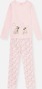 Różowa piżama Sinsay dla dziewczynek