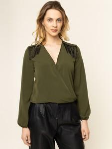 Zielona bluzka Liu-Jo w stylu casual