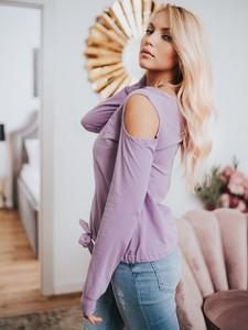 T-shirt Point X z długim rękawem