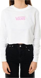 T-shirt Vans z długim rękawem z bawełny