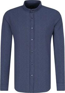Niebieska koszula BOSS Casual