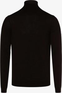 Brązowy sweter Hugo Boss