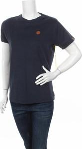 Granatowy t-shirt Alife And Kickin z krótkim rękawem