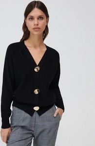 Czarny sweter Mohito